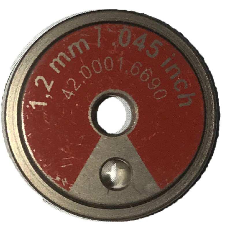 Vorschubrolle/Antriebrolle 0,8-1,2 für Stahl und Alu (Fronius TransSteel 2200c) - - 1981