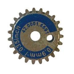 Vorschubrolle/Antriebrolle 0,8-1,2 für Stahl und Alu (Fronius TransSteel 2200c)