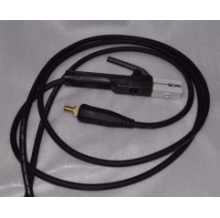 Elektrodenhandkabel Schweißkabel 400A, 35mm², Dorn 13mm, 3m