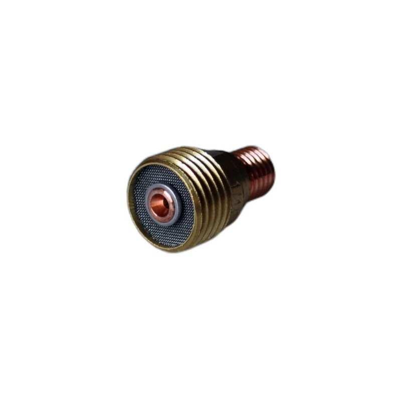 Spannhülsengehäuse mit Gaslinse Standard - 2,4mm - Typ 9/20/24 - 45V44 - Original Binzel - 701.0309 - 701.0309 - 4036584044211 -