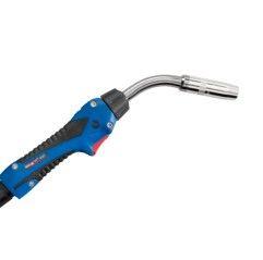 MIG/MAG-Schweißbrenner Schlauchpaket ABIMIG® W T 440 LW,50°, Stromdüse 1,2mm, länge 3-5 m, Euroanschluss, Flüssiggekühlt