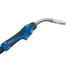 MIG/MAG-Schweißbrenner Schlauchpaket ABIMIG® W T 340 LW,50°, Stromdüse 1,0mm, länge 3-5 m, Euroanschluss, Flüssiggekühlt