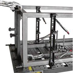 BUILDPRO® ECONO STOP & KLEMMPLATTE (50 x 138 x 200mm) SPRINGBARE EISENSPANNPLATTEN - T60210 (VPE 1St.) - T60210 - - 77,54€ -