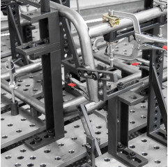 BUILDPRO® ECONO STOP & KLEMMPLATTE (50 x 138 x 300mm) SPRINGBARE EISENSPANNPLATTEN - T60215 (VPE 1St.) - T60215 - - 98,77€ -