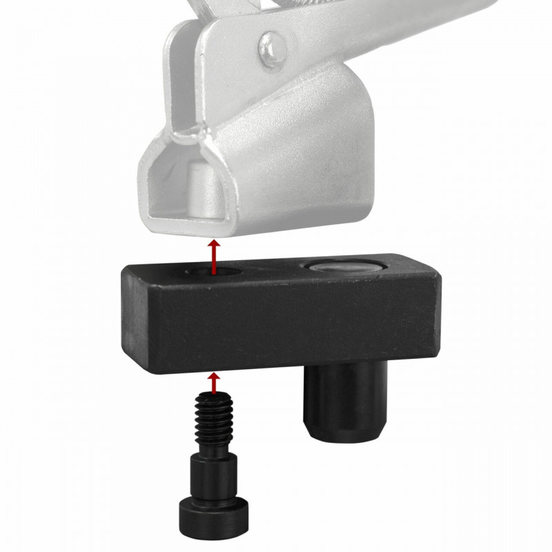 BUILDPRO® Zangenschwenkfuß (M8) - T66010 (VPE 1St.) - T66010 - - 18,28€ -