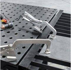 BuildPro Inserta C-Klemme Tischmontage, Ausladung 75mm, max.Kapazität 100mm, Gewinde M8 - PT09K - PT09K - - 23,22€ -