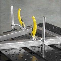 BuildPro Inserta Klemmen Ratschengriff, Kapazität 150mm, 16x8mm, für 16mm Tischlöcher - UDN6150 - UDN6150 - - 19,84€ -