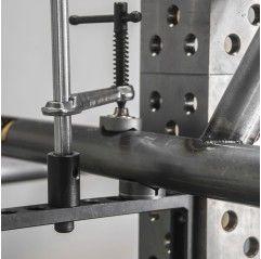 BuildPro Inserta Klemme T-Griff, Kapazität 200 mm, Schienengröße 20x10mm, für 16mm Tischlöcher - UEN6200 - UEN6200 - - 29,04€