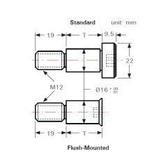 BuildPro Set mit Innensechskant-Schulterschrauben (Standard) 12mm - T931605 - T931605 - - 5,14€ -