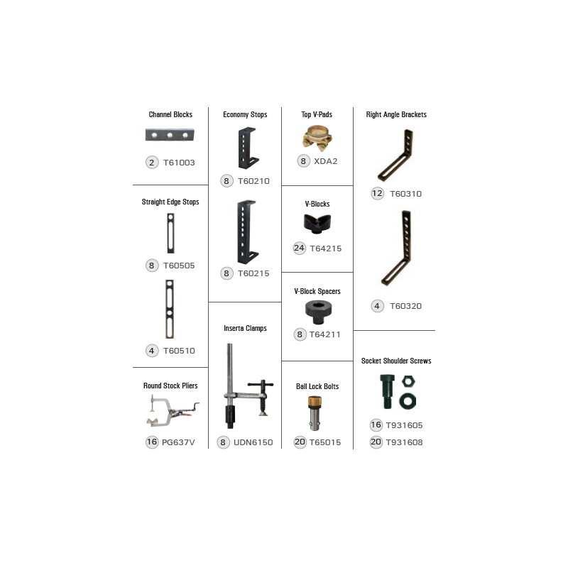 BuildPro TMK637 - BuildPro Modularer Befestigungssatz 166-TEILE-KIT - TMK637 - - 3.784,20€ -