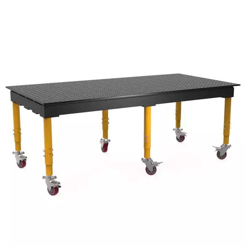 BUILDPRO MAX SCHWEISSTISCH NITRIERT - 2,550 X 1,250 MM - TMQRC625125V - TMQRC625125V - - 5.814,29€ -