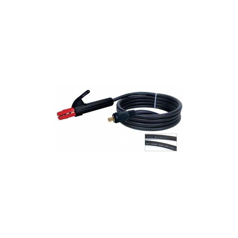 Elektrodenhandkabel Schweißkabel 200A, 3m, 16m2, Dorn 9mm