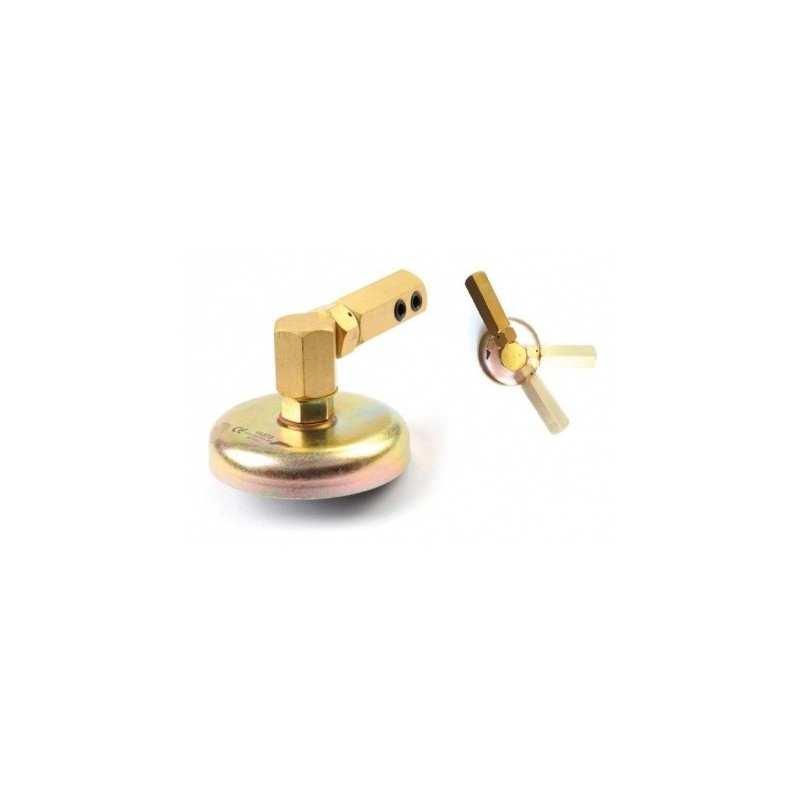 Massemagnet Rund Drehbar Magnetisch Masseklemme Schweißmagnet 60 - F11373 - - 25,99€ -