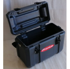 Fronius TransPocket Tool Case 60, stapelbar und bietet Platz für das gesamte Schweißzubehör