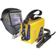 Elektrodenschweißgeräte MMA - Set GYSMI 130P + Schweißhelm LCD TECHNO 11