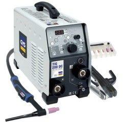 GYS WIG Schweißgerät TIG 200 DC HF FV mit Zubehör SR 17 (WIG Brenner, Zubehörset) - 1 - 3154020011540 - - 011540 - 1.135,16€ -