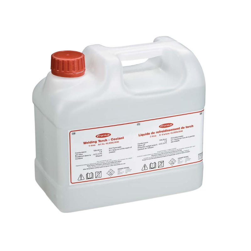 Fronius Brenner-Kühlflüssigkeit 5 l / 30 l