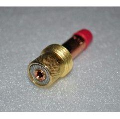 Spannhülsengehäuse mit Gaslinse Standard. 3,2mm -17/18/26 - 45V27 - Original Binzel - 701.0209