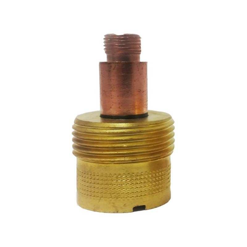 Gaslinse für WIG Brenner Typ 17// 18// 26 45V26 Ø 2,4mm Länge 48,5 mm