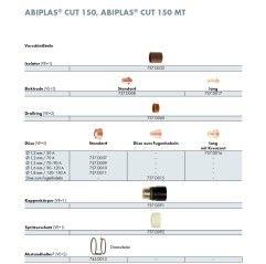 Plasma Electrodo corto ABIPLAS CUT 150 / MT