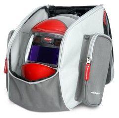 Rucksack für Schweissmaske  (ohne Schweisshelm), Handschuhe und Zubehör