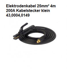 Elektrodenkabel 25mm²,...