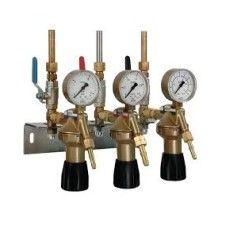GCE Entnahmestellenstation dreifach Acetylen Sauerstoff Acetylen
