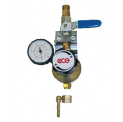 GCE Entnahmestellenstation Sauerstoff Inertgas Stickstoff, 0 - 5 bar - UNISET