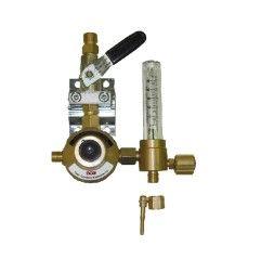 GCE Entnahmestellenstation Argon CO2, 0 - 30 l/min mit Flowmeter - UNISET