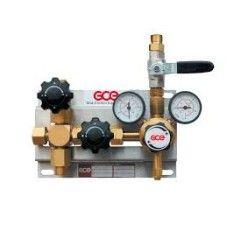 Entspannungsstation Druckregelstation MM70-1 - 300 bar - bis 20 bar regelbar - Sauerstoff Stickstoff Inerte Gase Argon Helium