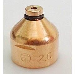 Plasma Schneiddüse Ø 2,0 mm, 200A, für AW 201 Brenner