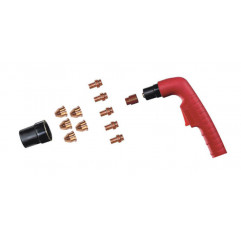 Trafimet Ergocut CB 50 - 1 Swirl-Ring, 5 Elektroden kurz, 5 Schneiddüsen konisch 1,0mm, 1 Aussenschutzdüse