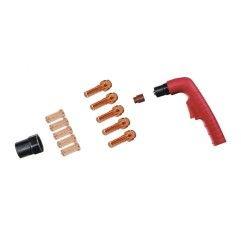 Trafimet Ergocut CB 50 - 1 Swirl-Ring, 5 Elektroden lang, 5 Schneiddüsen lang 1,0mm, 1 Aussenschutzdüse