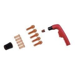 Trafimet Ergocut CB 70 - 1 Swirl-Ring, 1 Diffusor lang, 5 Elektroden lang, 5 Schneiddüsen lang 1,0mm, 1 Aussenschutzdüse