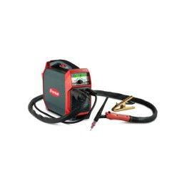 TransTig 170 Set, gasgekühlt, F Anschluss (Massekabel 16mm² 3 m, WIG Brenner, Druckminderer Junior)