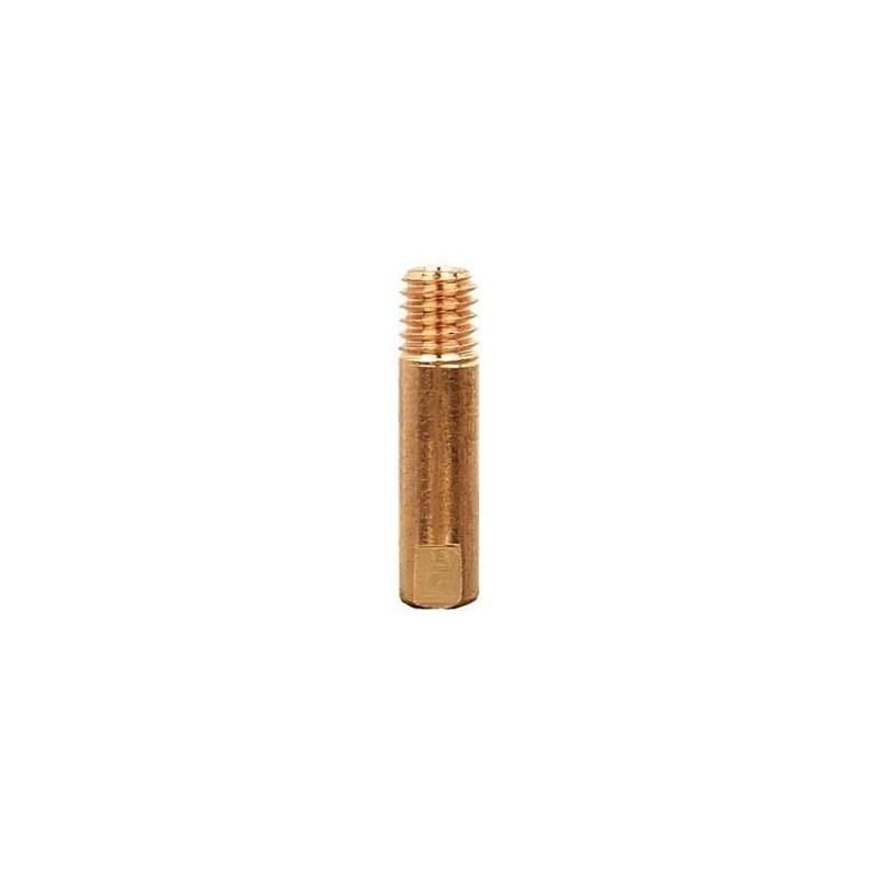 Stromdüse E-Cu M6 x 25, Ø 0,6mm, Abicor Binzel - 140.0008 - 140.0008-1 - - 0,67€ -
