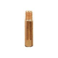 Punta de contacto E-Cu M6 x 25 MIG MAG, Binzel, 10  PZ.,  Ø 0,8m