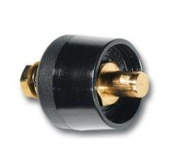Einbaustecker-Einbaukabelstecker fuer Massekabel-Buchse 24mm, 70-95mm2, Einschaltdauer 500A-60%