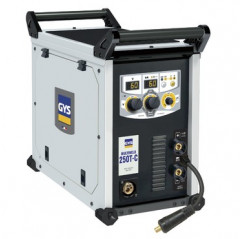 GYS Multiweld 250T-C MIG Schweißer 250A, MIG MAG WIG E-Hand 200A 230V