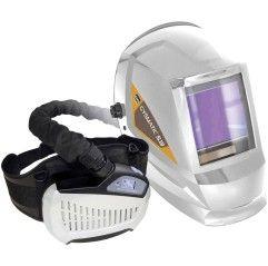GYS 5/13 AIR TRUE COLOR XXL 047846 Schweißerschutzhelm mit Gebläse-Atemschutzsystem Weiß EN 166, EN 175, EN 379, EN 1294