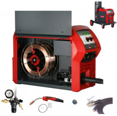 Fronius TransSteel 3000 C PULSE/FSC, Set 0,9-1,0mm, Multiprozess Schweißgerät,10-300A, MTG 320i inkl. Erstausrüstung, etc.