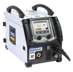 GYS - NEOPULSE 220 C einphasige MIG/MAG Puls-Stromquelle, 10-220A, 220V-1Ph, Drahtspulen 200mm