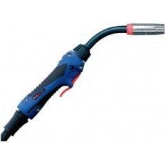 MIG/MAG-Schweißbrenner Schlauchpaket ABIMIG® A T 305 LW,45°, Stromdüse 1,2mm, länge 3-5 m, Euroanschluss, Gasgekühlt