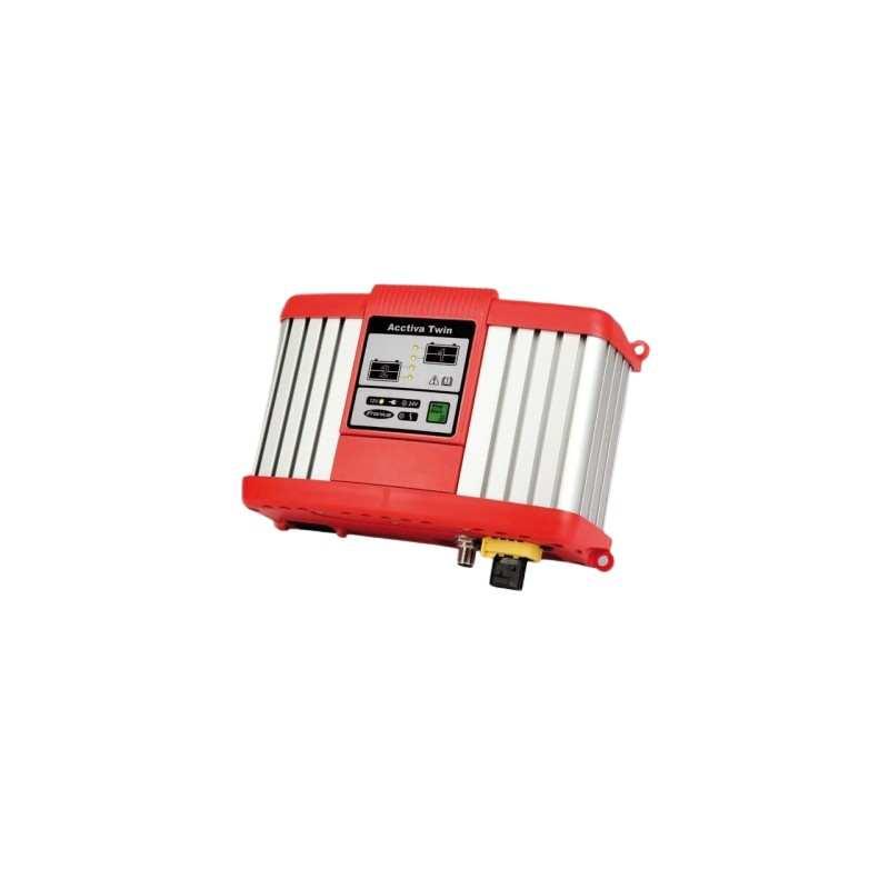 Batterie Ladegerät Mehrkreis Ladesytem ACCTIVA TWIN 15A Can Fire