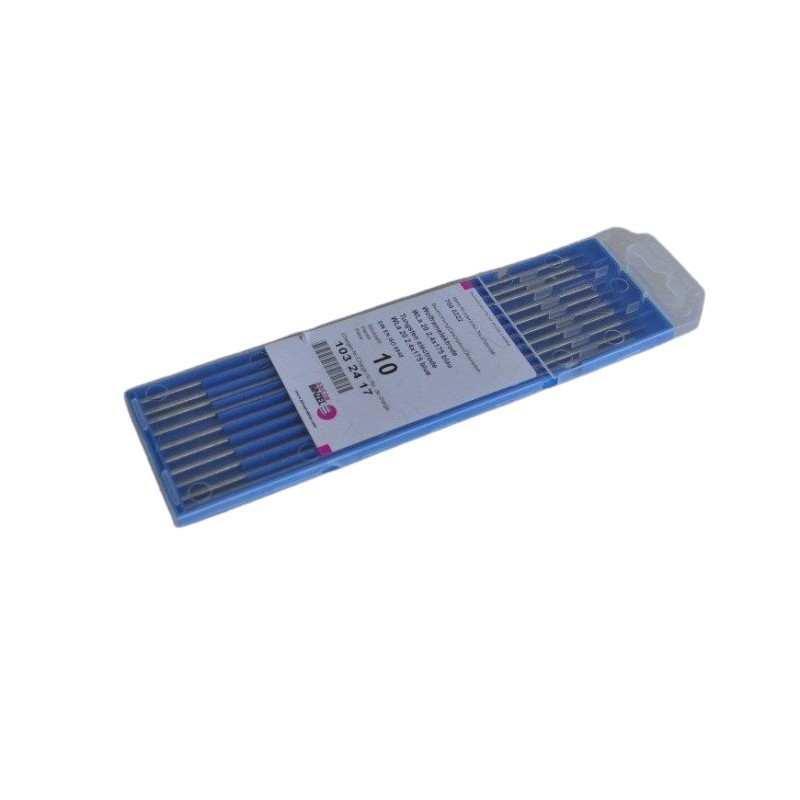 Wolframelektrode WLa 20 blau, 10 Stück, 1,0-4,0x175mm - Abicor Binzel - 700.0219-10 -  - 10,41€ -