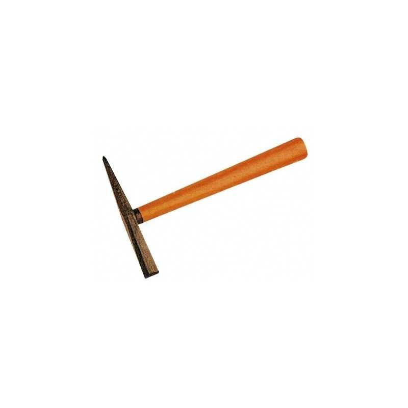 Schlackenhammer mit Esche Holzstiel 250g geschliffen und Holzgriff