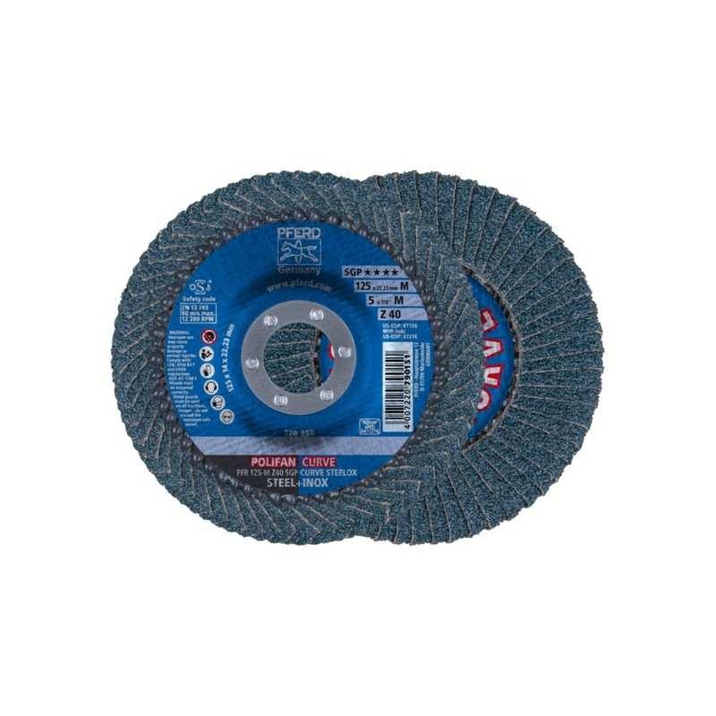 POLIFAN PFERD PFR 125-M Z40 SGP CURVE STEELOX