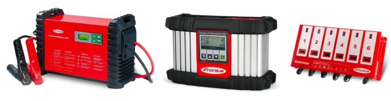 Batterieladegeräte für Werkstätten, Hobby und Intralogistik