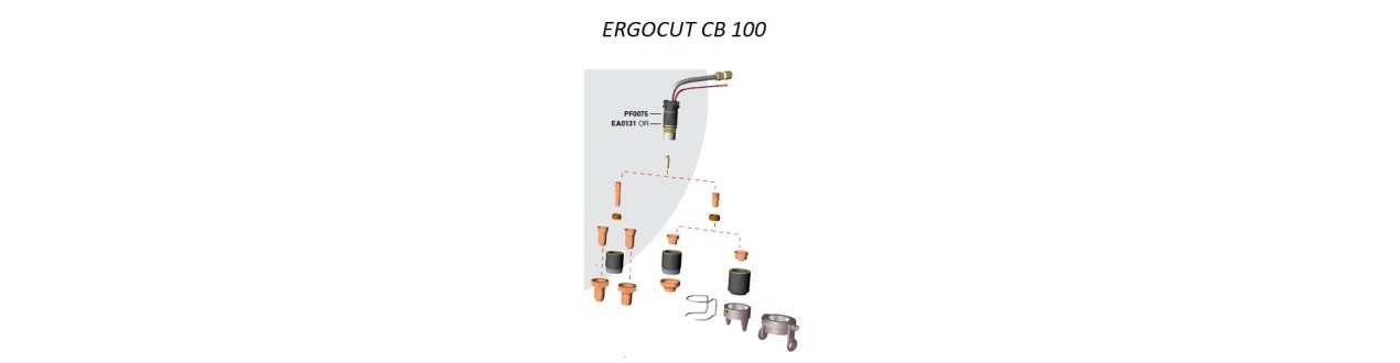 Verschleissteile Set CB100