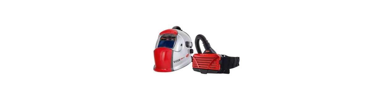 Automatik Schweißhelme m. AirFilter und Geruchsfilter
